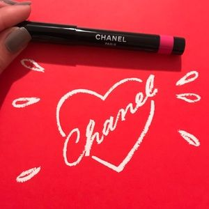 Chanel Le Rouge De Couleur Fuschia Lip Crayon