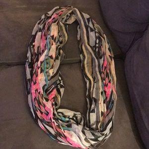 ASOS infinity multicolored lightweight scarf