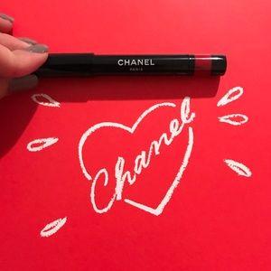 Chanel Le Rouge De Couleur Carmin Jumbo Lip Crayon