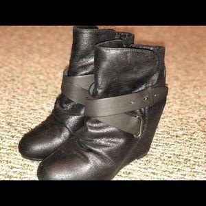 Aldo booties, lightly worn.