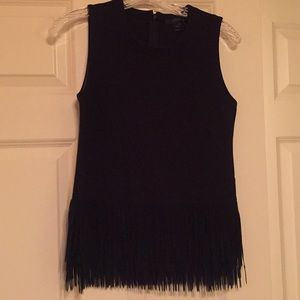 J. Crew Fringe Top XXS New with Tags!