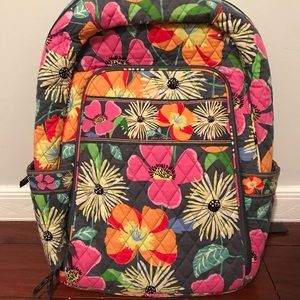 Vera Bradley Campus Backpack (Jazzy Blooms)