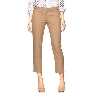GAP Slim Ankle Cropped Tan Dress Pants Bottoms