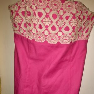 Lilly Pulitzer Size 2 Dress Pink