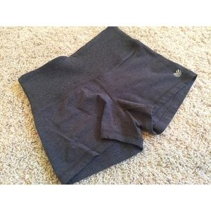 Gray F21 Stretchy Shorts