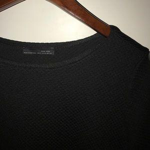 ZARA - black dress top blouse