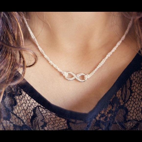 998b78f55 Tiffany & Co. Jewelry | Tiffany Infinity Necklace | Poshmark