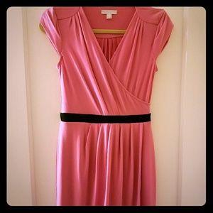 Classic Faux Wrap Dress