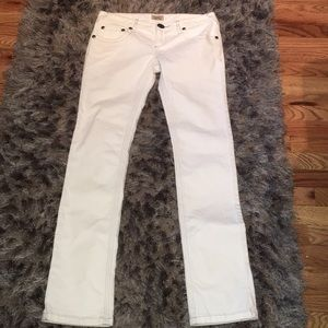 Brand new free people low rise light blue jean
