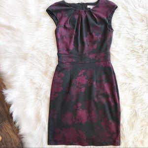 WHBM Floral Sheath Dress
