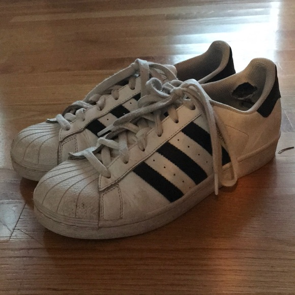 Adidas zapatos unisex 65 m poshmark superestrellas 85 W