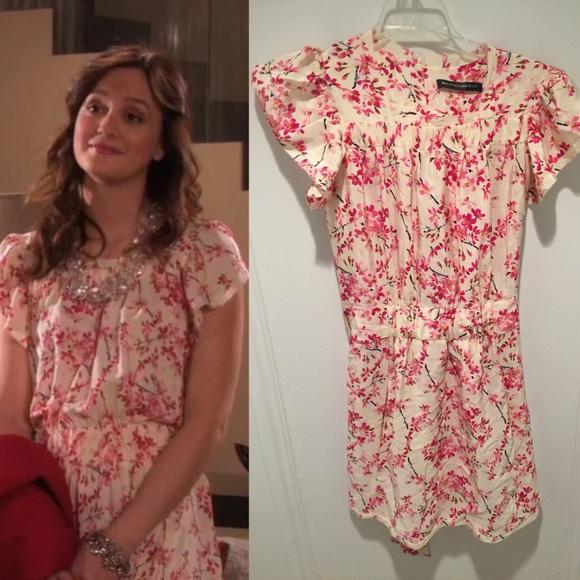 a4261d9a2bca Balenciaga Dresses | White Floral Dress 6 Blair Waldorf | Poshmark