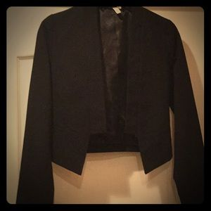 Black Frenchi sport coat