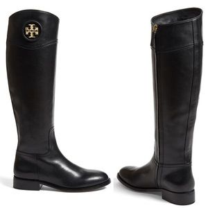 Tory burch riding boots size 8