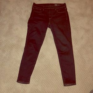 Dark rinse 1969 Gap Super Stretch skinny Jeans