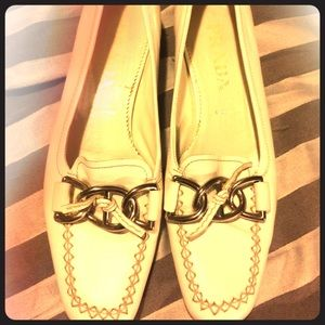 Authentic Prada loafers excellent condition