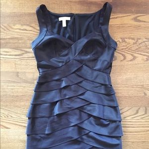 London Times Womens Dress Size 6 Black A0049