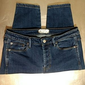 Free People Dark Wash Skinny Jeans