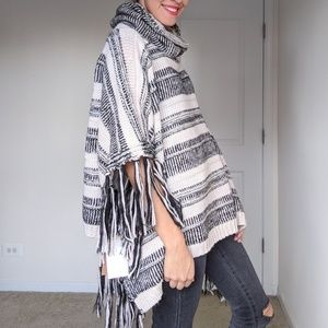 NWT Shawl with Cowl Neck