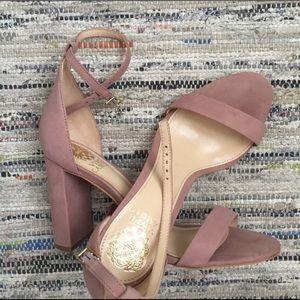Vince Camuto Mairana ankle strap sandal in blush
