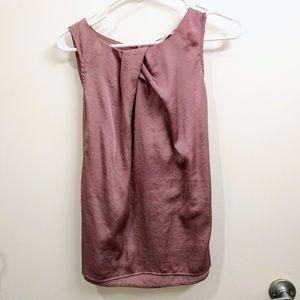 Purple (periwinkle) sleeveless blouse