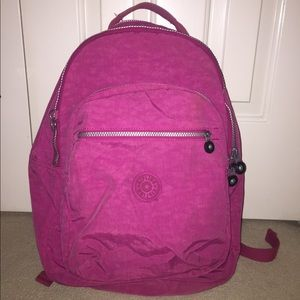 Kipling Hot Pink Backpack