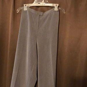 Size 14W Sag Harbor stretch gray slacks EUC
