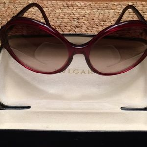 Bvlgari Jewel Embellished oversize sunglasses