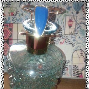 🎀Cuff bracelet w blue stone, costume