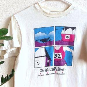 VTG❄️Rad 90s Vail Colorado Hill Climb Race Ski USA
