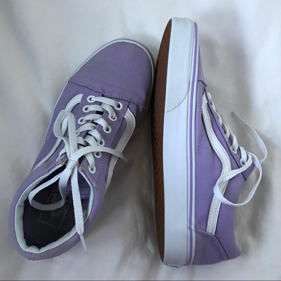 38c3cda5b473 Purple Old Skool Vans. M 5a28886a4225be59a700452f