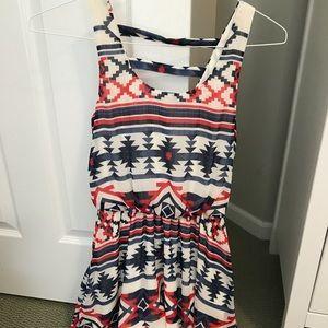 Target patterned dress
