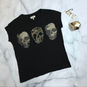 Zara Skull Tee Shirt