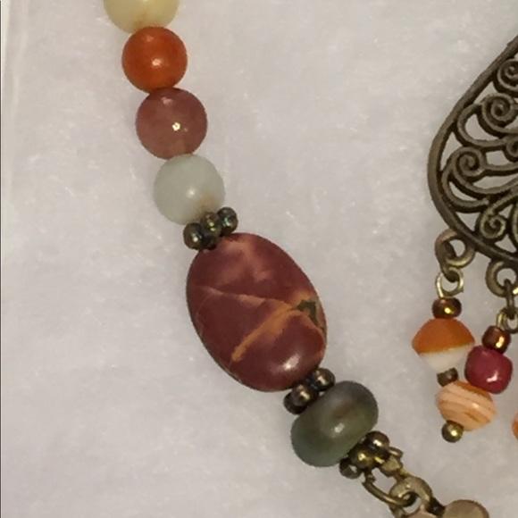 69 off JK Designs Jewelry Picasso Jasper Amazonite Necklace