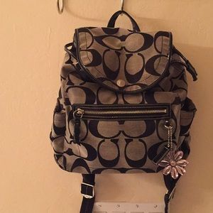 Authentic Coach Backpack Purse