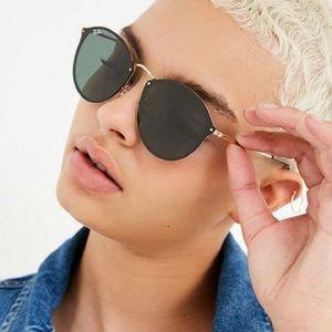 Ray-Ban Black Blaze Round Polarized Sunglasses 😎