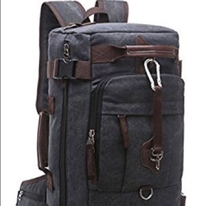 Nwt canvas backpack
