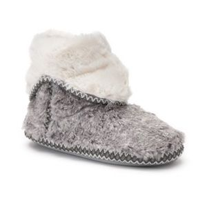 Shoes - Fold Down Bootie Slippers