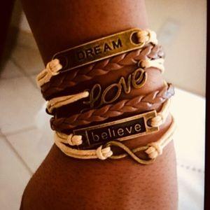 Dream ♉️ Love 💟 Believe Bracelet