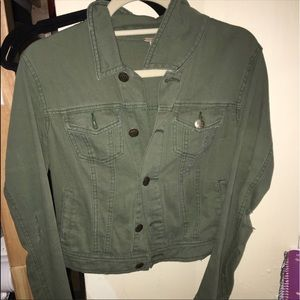 Free people jean denim jacket