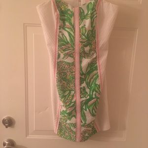 Lilly Pulitzer size 10 strapless dress.