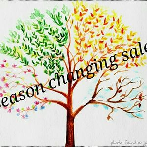 Other - Season changing sale!!!