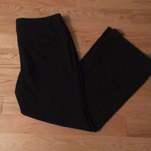 gap size 12 ankle stretch modern boot dress pant