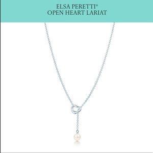 Authentic Tiffany & Co. Elsa Peretti Open Heart