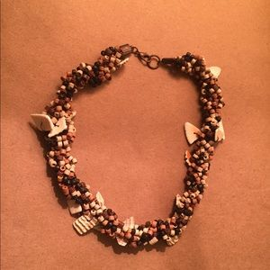 Brown nacklace