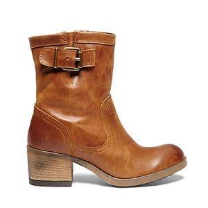 Steve Madden Leather Boots Grabber