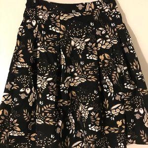 Eva Mendes floral skirt