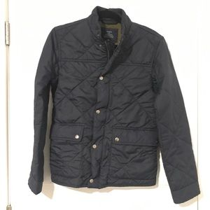 Quilted J Crew Jacket