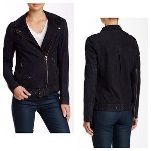 💝Muubaa Narayan Blouson Real Leather Biker Jacket