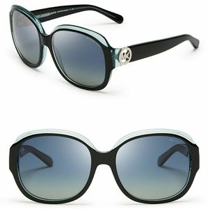 Michael Kors Polarized Oversized Square Sunglasses